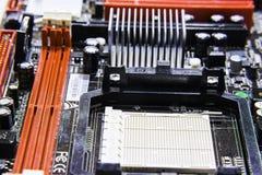 Komputerowa płyta główna Zdjęcie Stock