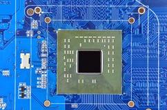 Komputerowa płyta główna, jednostki centralnej nasadka Fotografia Stock