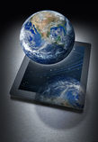 Komputerowa pastylki technologia Globalna Fotografia Stock