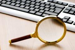 komputerowa pojęcia klawiatury ochrona zdjęcia stock