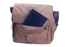 komputerowa torby pastylka zdjęcie stock