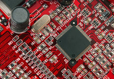 komputerowe elektronika Zdjęcia Stock