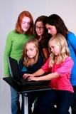 komputerowe fajtłapy Fotografia Stock