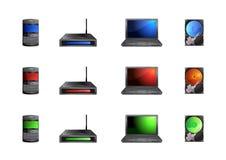 Komputerowe ikony Obraz Royalty Free
