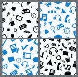 Komputerowe ikony bezszwowe Obraz Stock