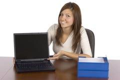 komputerowe s przejawy wiceprzewodniczących ekranu Fotografia Stock