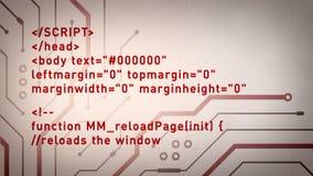 Komputerowego kodu i obwodów rewolucjonistka Lite zdjęcie wideo
