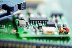 Komputerowego obwodu jednostki centralnej głównej deski elektroniki przyrząd: pojęcie narzędzia i technologia zdjęcia stock