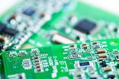 Komputerowego obwodu jednostki centralnej uk?adu scalonego mainboard sedna procesoru elektronika przyrz?d zdjęcie stock