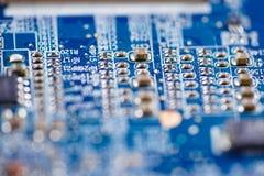 Komputerowego obwodu jednostki centralnej uk?adu scalonego mainboard sedna procesoru elektronika przyrz?d obrazy stock