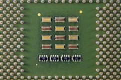 Komputerowego obwodu procesor Obraz Royalty Free