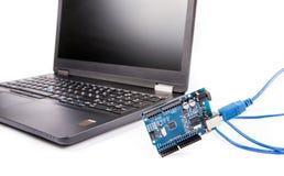Komputerowego programowania microelectronics Obrazy Stock