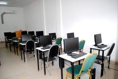 KOMPUTEROWEGO szkolenia pokój zdjęcie royalty free