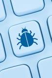 Komputerowego wirusa Trojańskiej sieci ochrony online internet obrazy stock