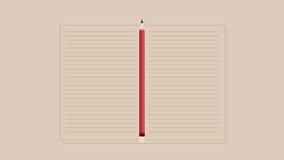 komputerowej klawiatury notatnika biuro Ilustracji