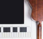 Komputerowej muzyki produkci set Zdjęcie Stock