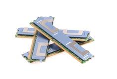 Komputerowej pamięci moduły Zdjęcia Royalty Free