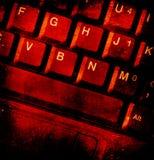 komputerowi klucze zdjęcie stock