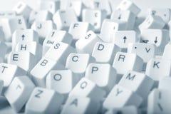 komputerowi klucze Zdjęcia Stock