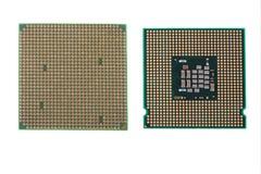 komputerowi procesory Zdjęcia Royalty Free