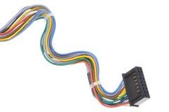 Komputerowi związków kable, prymki i Obrazy Stock