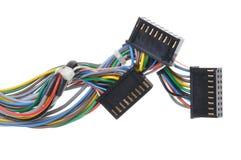 Komputerowi związków kable, prymki i Obrazy Royalty Free