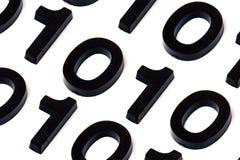 Komputerowy binarny kod Zdjęcie Royalty Free
