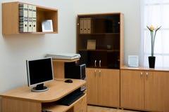komputerowy biurko Zdjęcie Stock