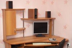 komputerowy biurko Obrazy Stock