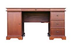 Komputerowy biurko w klasycznym stylowym buku Fotografia Stock