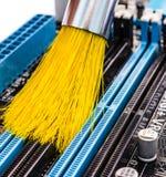 Komputerowy cleaning Fotografia Royalty Free