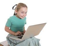 Komputerowy cuteness Zdjęcia Royalty Free