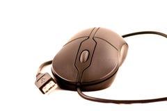 komputerowy czarny zamknięta komputerowa mysz Zdjęcia Royalty Free