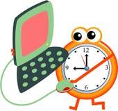 komputerowy czas ilustracji