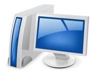 komputerowy desktop ilustracja wektor