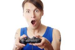 Komputerowy gamer Zdjęcie Stock