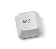 komputerowy guzika klucz Zdjęcie Stock