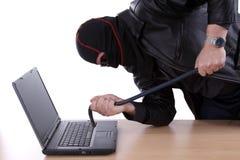 komputerowy hacker Fotografia Stock