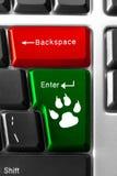 Komputerowy klawiaturowy pojęcie Zdjęcie Stock