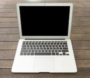 Komputerowy laptop Zdjęcia Royalty Free
