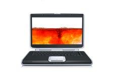 komputerowy laptop Fotografia Royalty Free