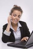 komputerowy laptop używać kobiety zdjęcia royalty free
