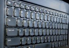 Komputerowy laptopu zakończenie up Zdjęcia Stock