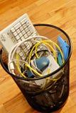 komputerowy śmieci Zdjęcia Royalty Free