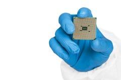 Komputerowy mikroprocesor Zdjęcia Royalty Free