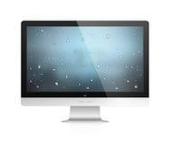 Komputerowy monitor Obraz Royalty Free