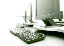 Komputerowy pokój Obraz Stock