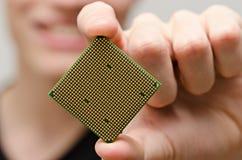 Komputerowy procesor Fotografia Stock