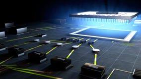 Komputerowy procesor Zdjęcie Stock