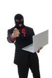 komputerowy przestępstwo Zdjęcie Royalty Free